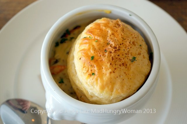 Gastropub diary of a mad hungry woman for Fish pot pie