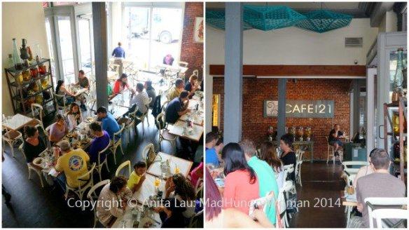 CAFE 21 GASLAMP