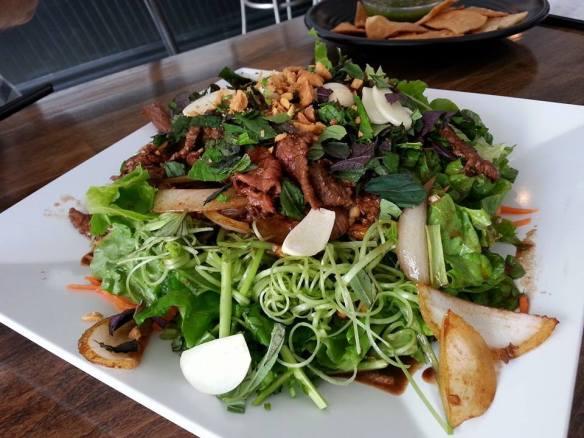 ong choy salad
